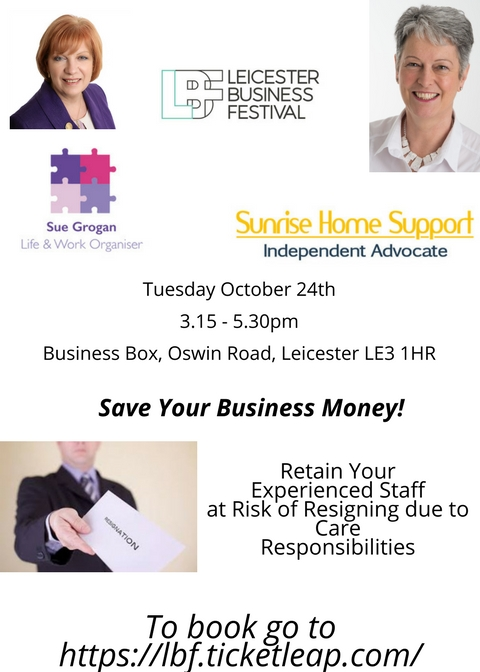 Retaining your Experienced Staff – Oct 24th free workshop – Leicester