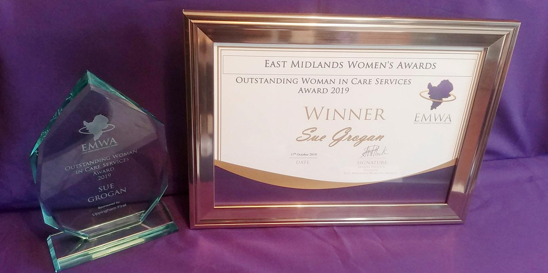Award EMA Sue Grogan